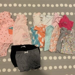 9 month clothes lot